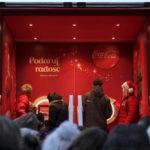 Świąteczna ciężarówka Coca-Coli w Toruniu, 1.12.15r